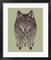 Framed Wolf Dreams