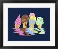 Framed Ice Cream Dreams