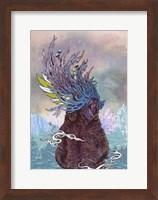 Framed Journeying Spirit (Bear)