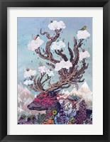 Framed Journeying Spirit (Deer)