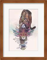 Framed Journeying Spirit (Mountain Lion)