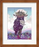 Framed Journeying Spirit (Owl)