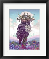 Framed Journeying Spirit (Owl)