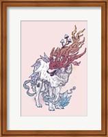 Framed Spirit Wolf
