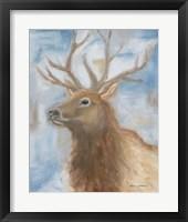 Framed Payson Elk