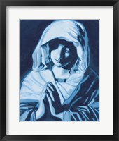 Framed Virgin Mary