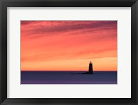 Framed Fiery Whaleback