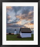 Framed Ned's Point Sunset