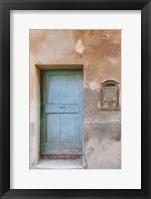 Framed Antique Mailbox - Vertical