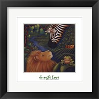 Framed Jungle Love I