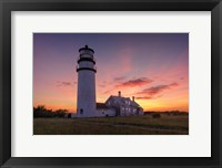 Framed Cape Cod Sunset