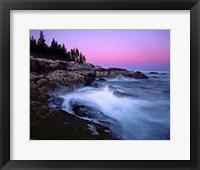 Framed Acadia Dusk