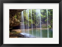 Framed Alabama Caney Creek Veil