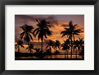 Framed Marathon Key Sunset