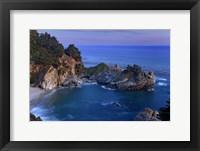 Framed Big Sur McWay Falls