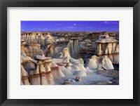 Framed Bisti Badlands