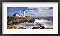 Framed Portland Head Light
