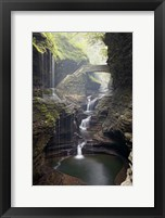 Framed Watkins Glen Rainbow Bridge