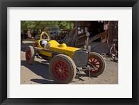 Framed Gold King Mine Race Car