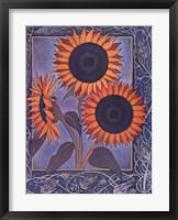 Framed Flora Nouveau