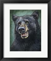 Framed Black Bear Totem
