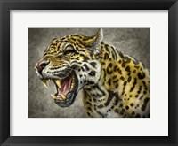 Framed Jaguar Totem