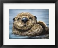 Framed Otter Totem