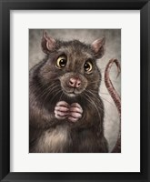 Framed Rat Totem