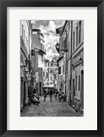 Framed Historic street of Rome