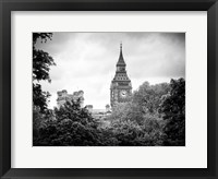 Framed St James's Park with Big Ben - London