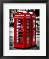 Framed London Calling