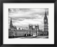 Framed Palace of Westminster and Big Ben