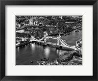 Framed View of City of London with the Tower Bridge at Night