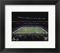 Framed U.S. Bank Stadium Super Bowl LII