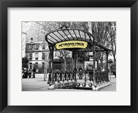 Framed Metropolitain