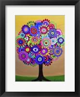 Framed Sunny Tree Of Life
