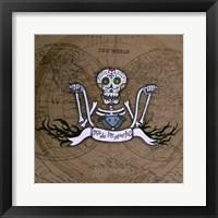 Framed Dia De Los Muertos Ape Hanger