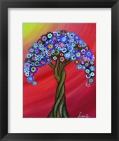Framed Honor's Resting Tree