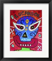 Framed Luchador