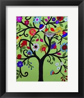Framed Special Tree Of Life Whimsical