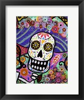 Framed Abstract Catrina