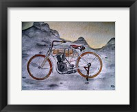 Framed Harley Davidson Bike 1907