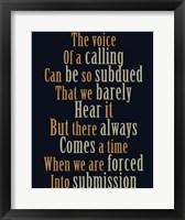 Framed Calling