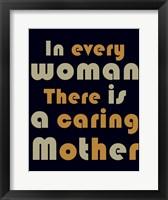 Framed Caring Mother