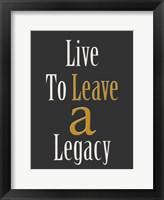 Framed Legacy