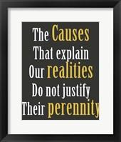 Framed Realities