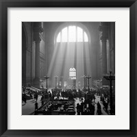 Framed 1930s 1940s Interior Pennsylvania Station New York City?