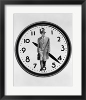 Framed 1960s 1950s Montage Business Man