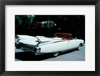 Framed 1959 El Dorado Biarritz Cadillac Convertible