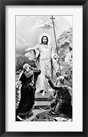 Framed Jesus Christ The Resurrection Easter
